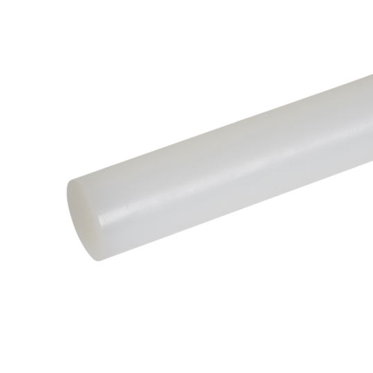 PE1000 WHITE PLASTIC ROD